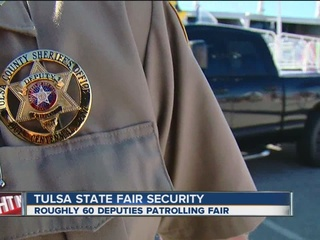 TCSO presence at 2016 Tulsa State Fair