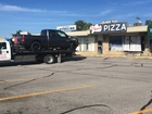 Truck crashes into south Tulsa restaurant