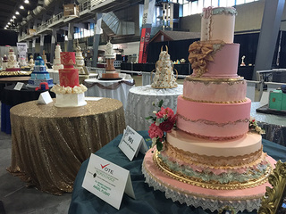 Cake Decorating Store Tulsa : The incredible cakes on display at the Tulsa State Fair are  Mad for Metallics  - KJRH.com