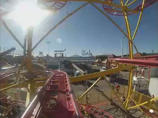 Take a spin on 'Crazy Mouse' at the Tulsa Fair