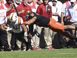 OSU Cowboys beat Iowa State Cyclones 38-31