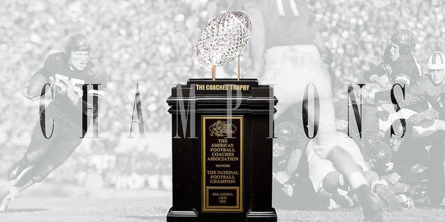 OSU Now Has a National Championship in Football