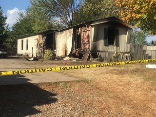 3 children die in mobile home fire