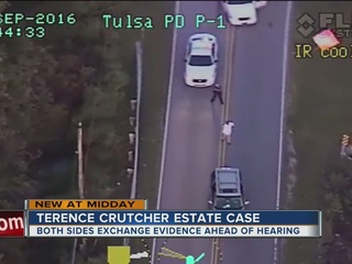 Terence Crutcher's family meets ahead of hearing