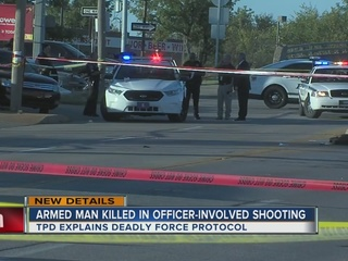 Tulsa Police explain deadly force protocol