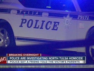 Two arrested after body found in north Tulsa