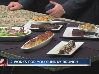 Sunday Brunch: Rib eye steak