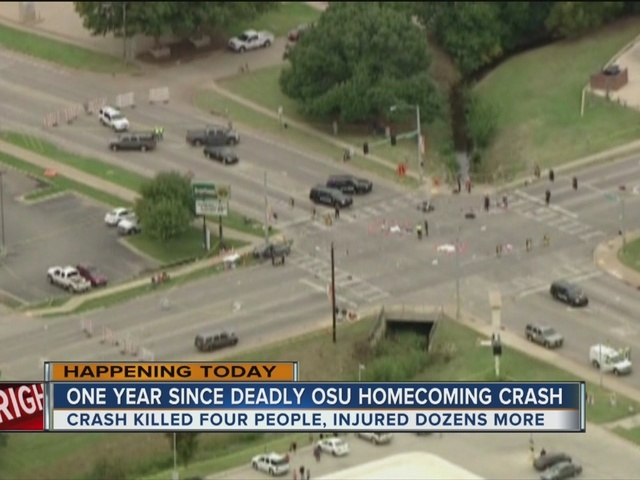 Oklahoma State remembers the one year anniversary of homcoming crash