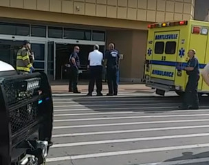 Vehicle drives into Bartlesville Walmart; hits 1