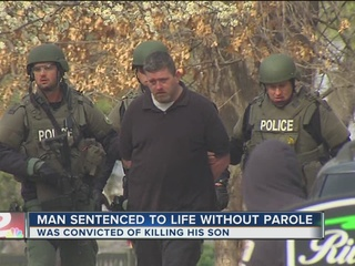 Man sentenced to life in prison in son's death