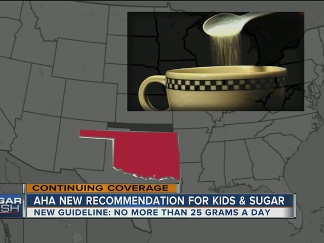 American Heart Association announces new recommendation for kids' sugar intake