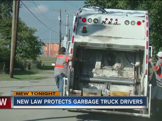 New law protects garbage collectors