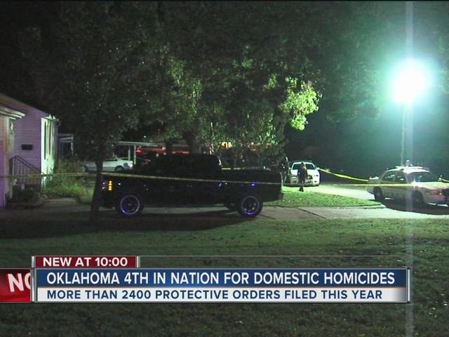 Oklahoma 4th in Nation for Domestic Homicides
