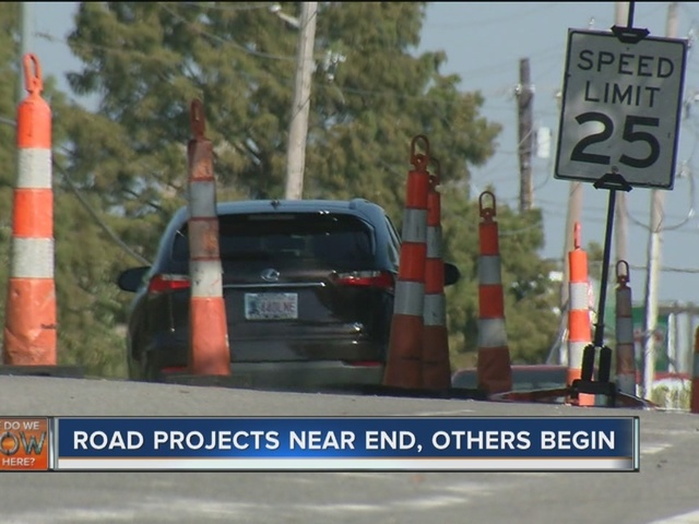 When will road, construction projects end in Tulsa?