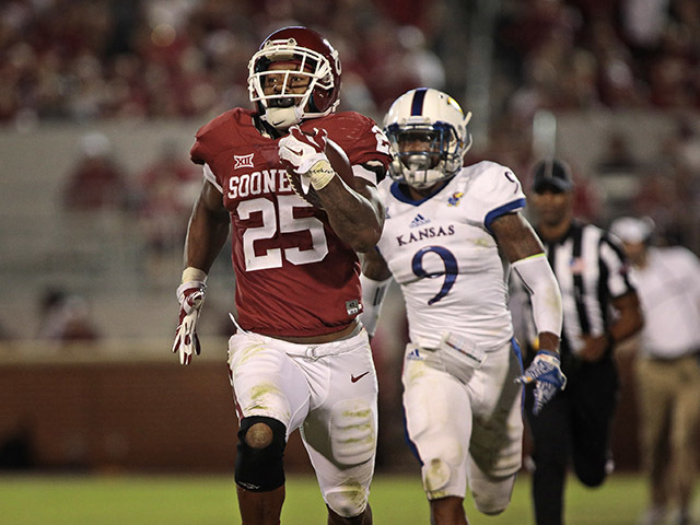OU's Mixon suspended for Iowa State