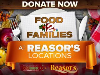 FOOD DRIVE: Donate at Reasor's through Dec. 13