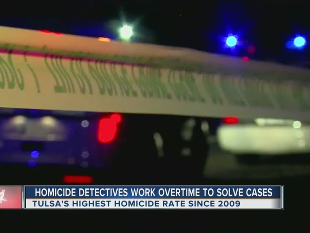 Homicide Detectives Work Overtime To Solve Cases