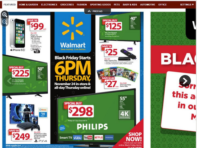 Black Friday Ads Walmart Target Toys R Us Best Buy Academy Kmart Big Lots More Stores 2016