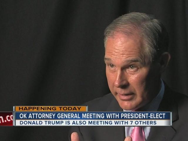 Oklahoma Attorney General Scott Pruitt To Meet With President Elect Trump Kjrh Com