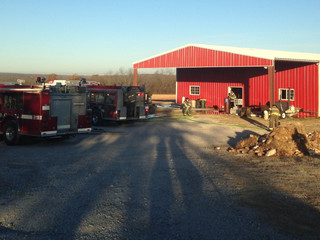 Fire at old candle factory in Sapulpa