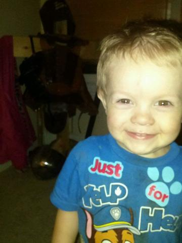 Toddler burned in house fire out of surgery