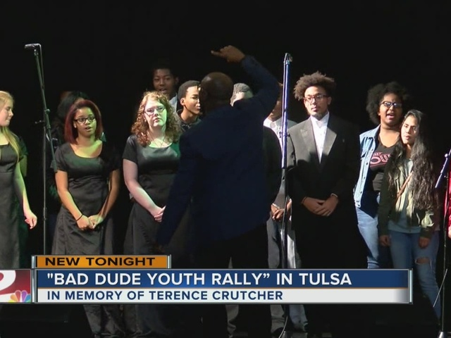 Bad Dude Youth Rally held in Tulsa