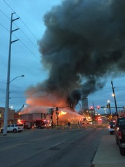 Tulsa firefighters rescue three in huge inferno