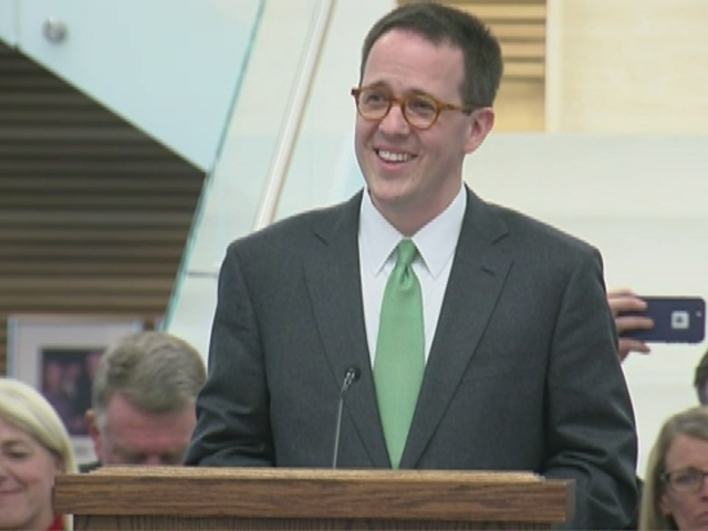 FULL SPEECH: GT Bynum talks about becoming 40th mayor of city of Tulsa