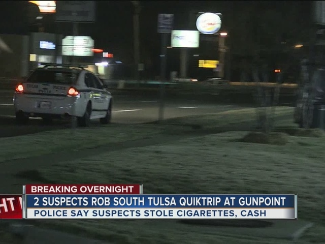 South Tulsa Quiktrip robbed at gunpoint overnight