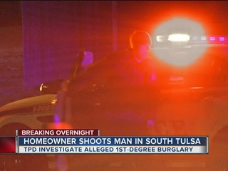 Man shot several times in south Tulsa