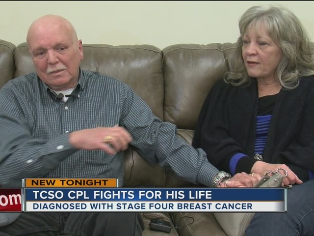 TCSO CPL Fights For His Life