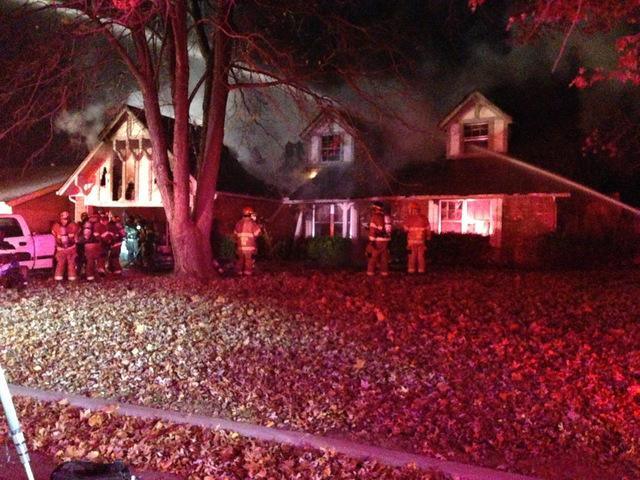 House fire leaves south Tulsa family homeless