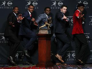 Lamar Jackson wins the Heisman Trophy