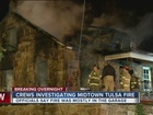 One injured in sand Springs house fire