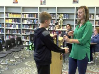 7th grade speller wins Glenpool spelling bee