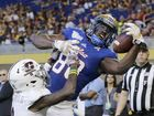 Tulsa dominates Central Michigan, 55-10