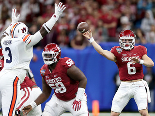 PHOTOS: OU takes on Auburn in Sugar Bowl
