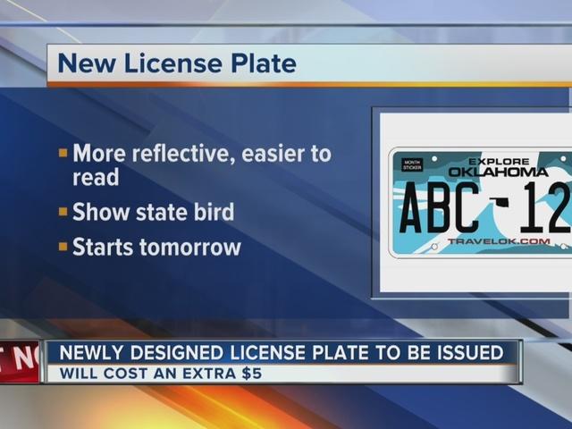 Oklahoma To Begin Reissuing Newly Redesigned License Plates Kjrh Com
