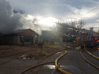 Jenks home destroyed by Sunday morning fire