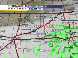 TIMELINE: Future track radar of winter storm