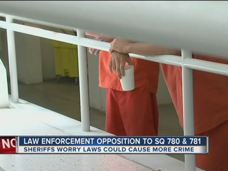 Local law enforcement opposes State Questions...
