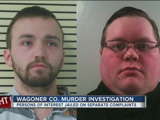 POI in Wagoner Co. homicide appears in court