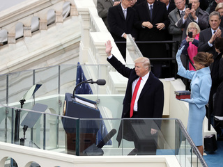 Donald Trump sworn in as President of the U.S.