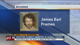 Shooting suspect in custody after Okla. manhunt