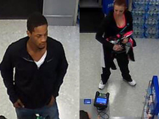Police search for suspects in debit card theft