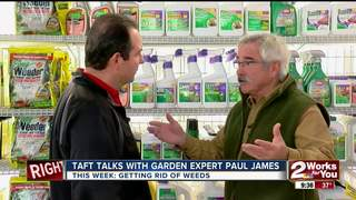 Paul James: Knocking out weeds