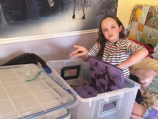 Cockroaches help Claremore girl handle illness