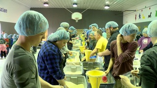 Wesleyan Christian School donates 100,000 meals