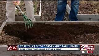 Paul James: Preparing beds for planting