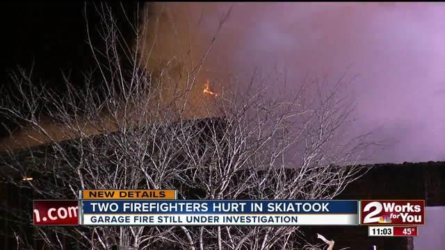 Overnight Skiatook fire under investigation